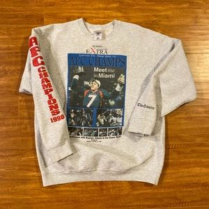 Vintage Denver Broncos Sweatshirt